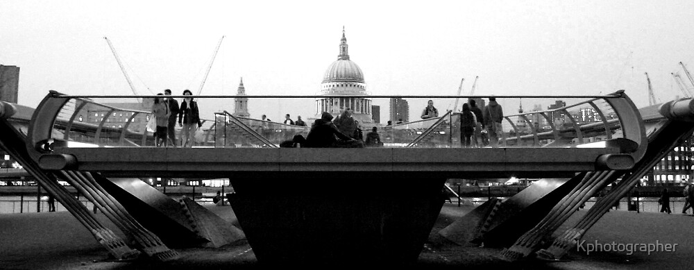 A view Over the Bridge by Kphotographer