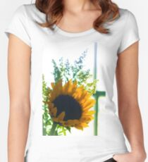 Backlit Beauty Women's Fitted Scoop T-Shirt