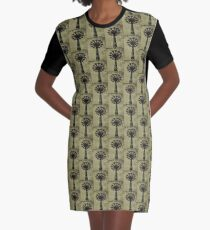 Bare Bones Parachute Graphic T-Shirt Dress