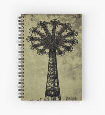 Bare Bones Parachute Spiral Notebook
