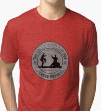 Pai Mei vs Daniel San Tri-blend T-Shirt