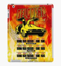 Delorean Time Machine iPad Case/Skin