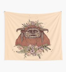 Ludo from Labyrinth || Fan Art by Chrysta Kay Wall Tapestry
