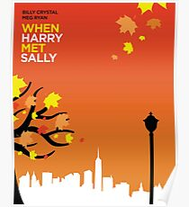 When Harry Met Sally // Minimalist Art Poster