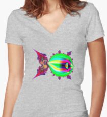 Fish Fitted V-Neck T-Shirt