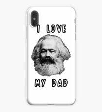 I Love My Dad Karl Marx iPhone XS Max Case