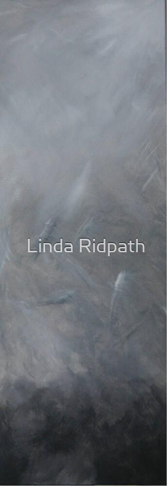 Eyes tight closed by Linda Ridpath