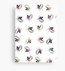 Love Bird (Pattern 1) Canvas Print