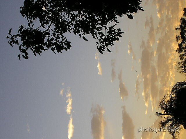 Clouds at Sunset by photogal2008