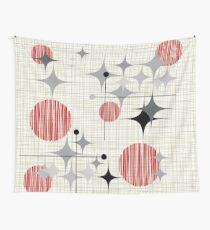 Tela decorativa Eames Era Starbursts y Globes 2 (Bkgrnd)