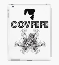 Covfefe Rock Star of 50s 60s 70s iPad Case/Skin