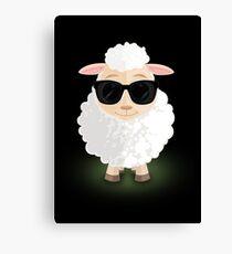 Cool Sheep Canvas Print