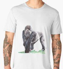 Silverback Gorilla Men's Premium T-Shirt