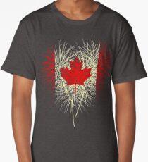 Canadian flag Long T-Shirt