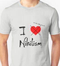 I Feel Rather Indifferent Towards Nihilism T-Shirt
