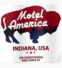 Motel America Poster