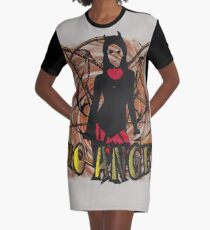No angel Dirty Graphic T-Shirt Dress
