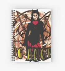 No angel Dirty Spiral Notebook
