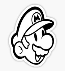 Video Game - Person Mario Sticker