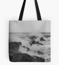 Corpus Break Wall Tote Bag
