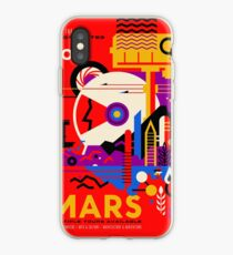 NASA Space Tourism Posters: Mars iPhone-Hülle & Cover