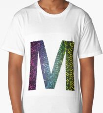 letter M of different colors Long T-Shirt