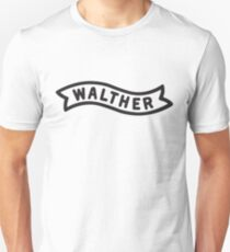 Walther Banner - Black Unisex T-Shirt
