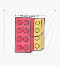 Never Lego Wall Tapestry