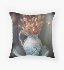Pitcher and Bowl Throw Pillow