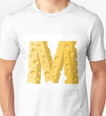 cheese letter M T-Shirt