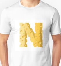 cheese letter N T-Shirt