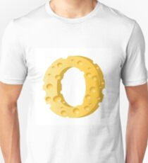 cheese letter O T-Shirt