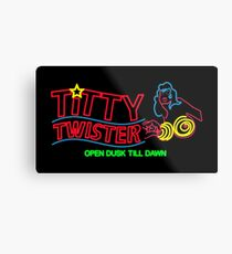 Titty Twister - Neon Revamped HD Metal Print