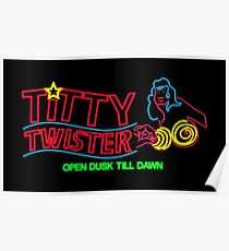 Titty Twister - Neon Revamped HD Poster