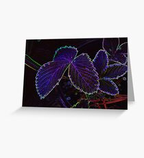 Weeping Edges  Greeting Card