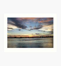 Chobe National Park Sunset Art Print