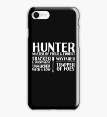 Hunter - LoTRO iPhone Case/Skin