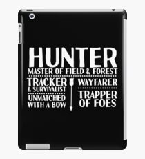 Hunter - LoTRO iPad Case/Skin