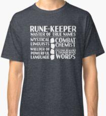 Rune-keeper - LoTRO Classic T-Shirt