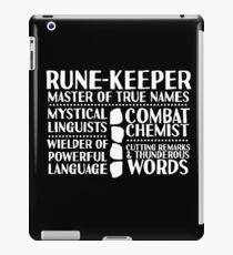 Rune-keeper - LoTRO iPad Case/Skin
