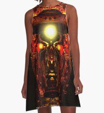 Mind Chamber A-Line Dress