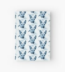 Carolina Blue Pup Hardcover Journal