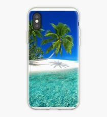 Postcard from the Anse Lazio beach - Praslin island, Seychelles iPhone Case