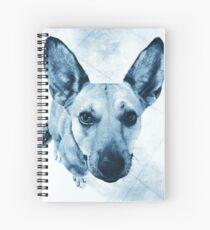 Carolina Blue Pup Spiral Notebook
