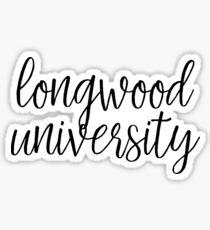 Longwood University Sticker