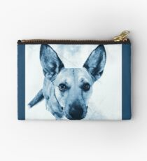 Carolina Blue Pup Studio Pouch