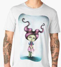 Maleficent's Dark Daughter - Little Goth Girl Men's Premium T-Shirt