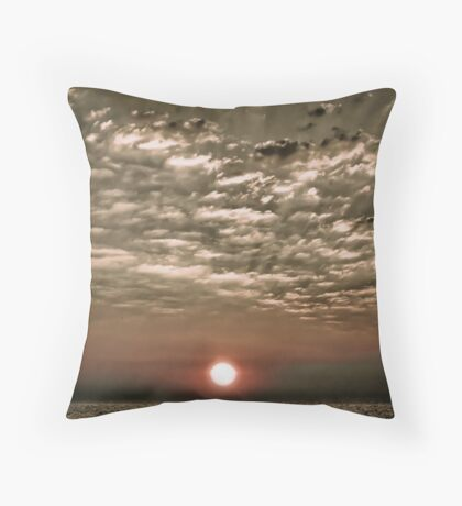 A Moment After Sunrise Throw Pillow