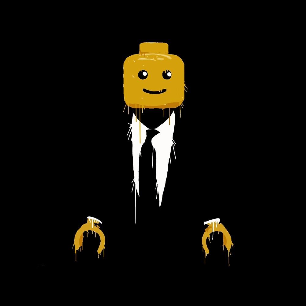 Lego man cool by GamersTshirts