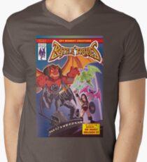 Battle Tribes - Return of the Demon Men's V-Neck T-Shirt